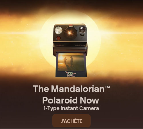 Polaroid Now The Mandalorian Edition