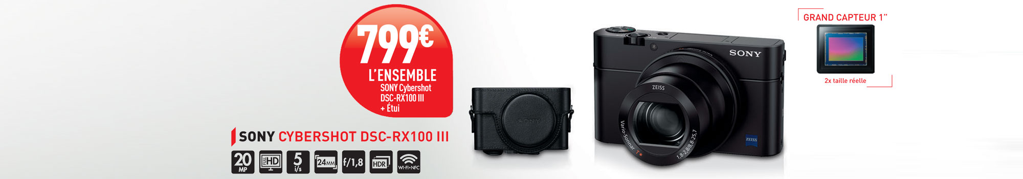 Offre Octobre Sony RX100 III