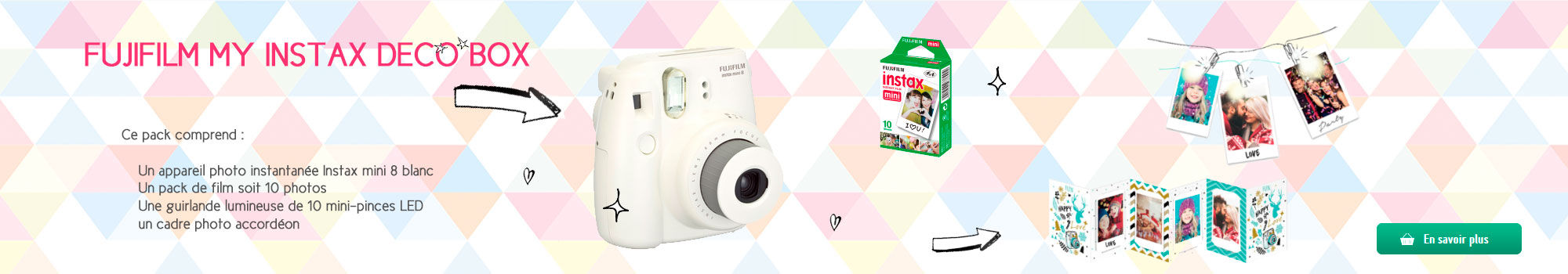 Fujifilm My Instax Deco Box