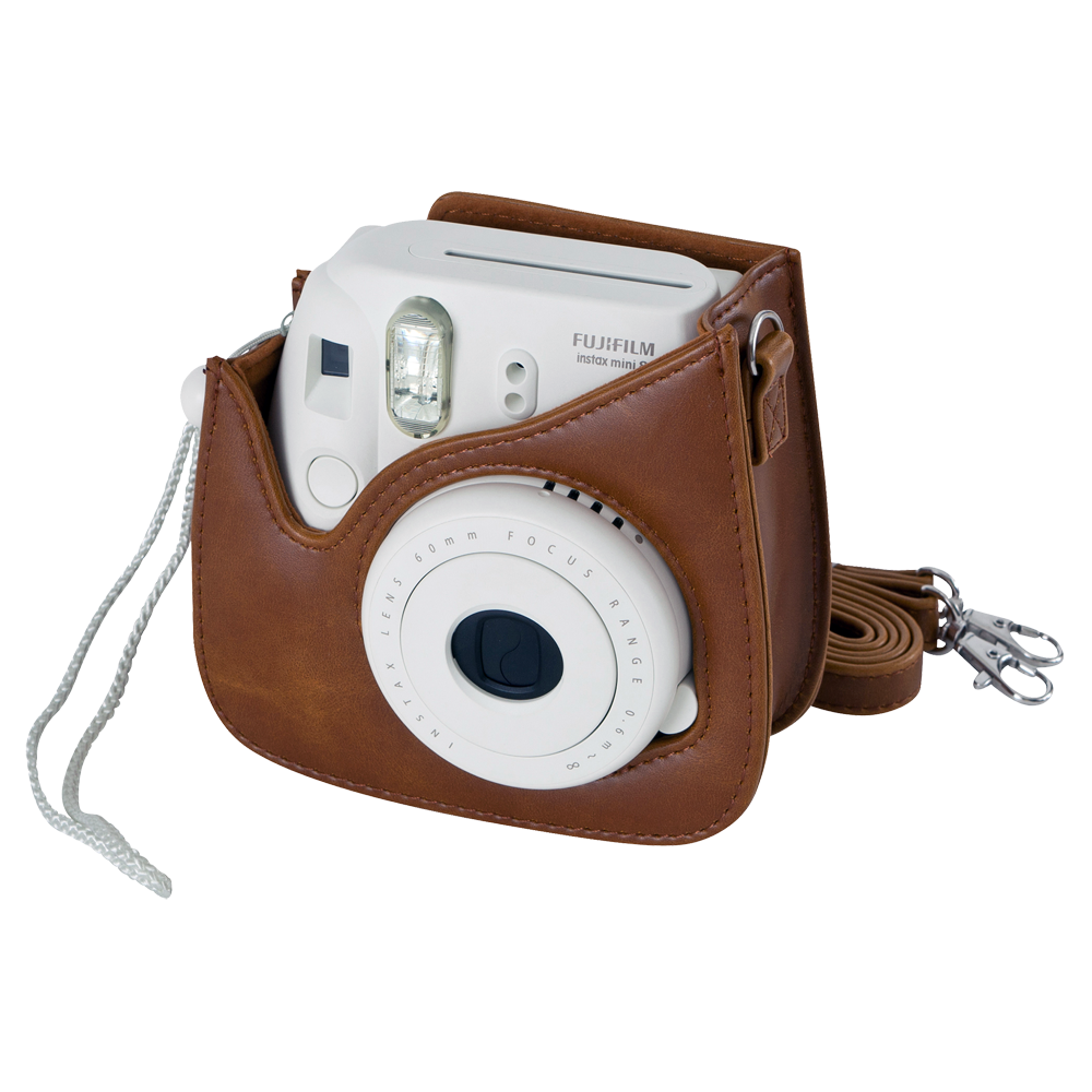 Fujifilm housse instax mini 8 9 marron for Housse instax mini 8