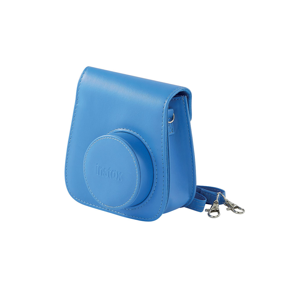 Fujifilm housse instax mini 9 bleu cobalt for Housse instax mini