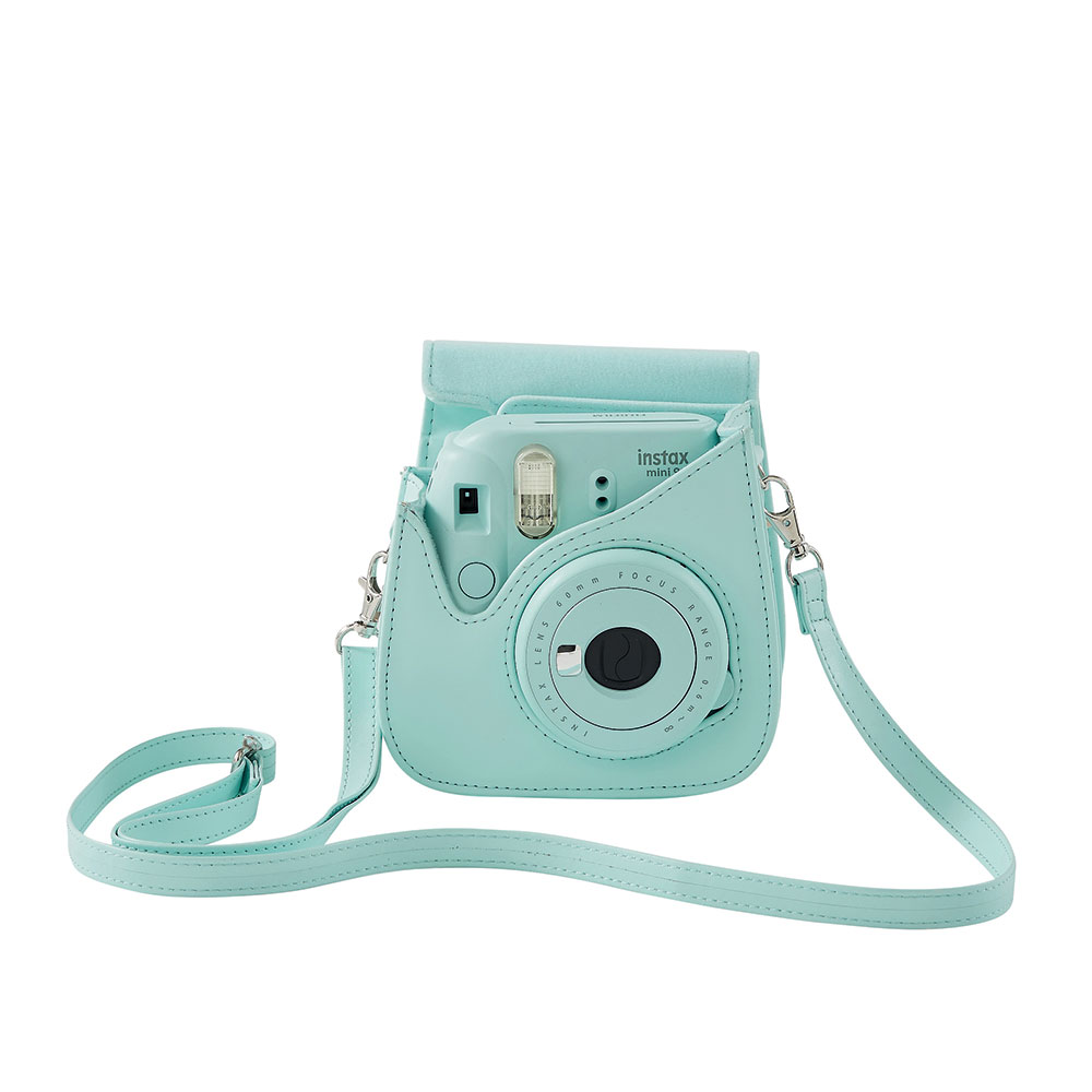 Fujifilm housse instax mini 9 bleu givr for Housse instax mini 9