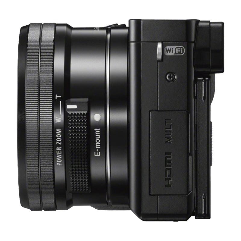SONY ALPHA 6000 Noir + SEL-P 16-50 mm f/3,5-5,6 OSS