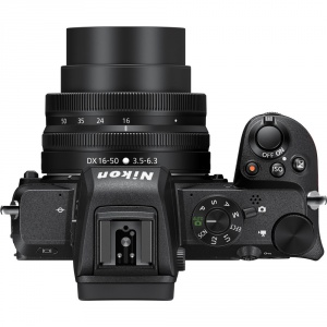 nikon-z50-optique-16-50-top